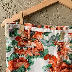 🌼anthro cartonnier floral pants